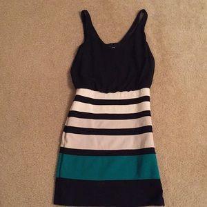 Stripped Dress.